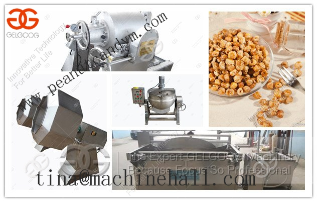 hot sell Coffee Corn Making Machine