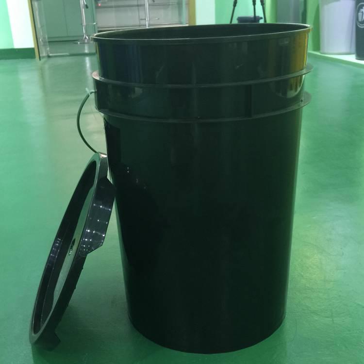 25liter 6.5gallon American style plastic bucket