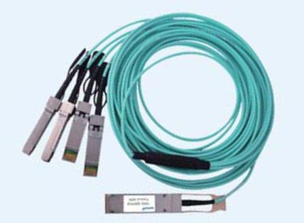100G QSFP28 to 4x 25G SFP28 Fan-Out Direct Attach Passive Copper Cables , 1m,3m,5m Reach