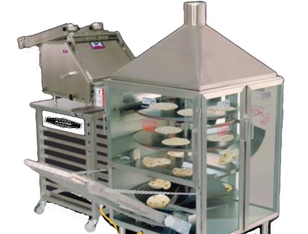 Tortilla Machine Set ( press + oven )