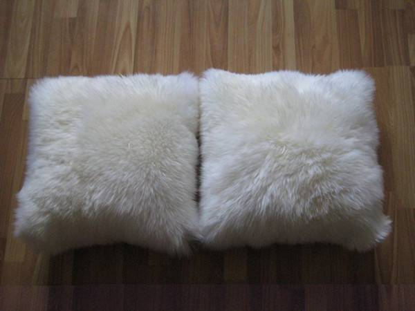 China Wholesale Sheepskin Fur Cushion Factory Price