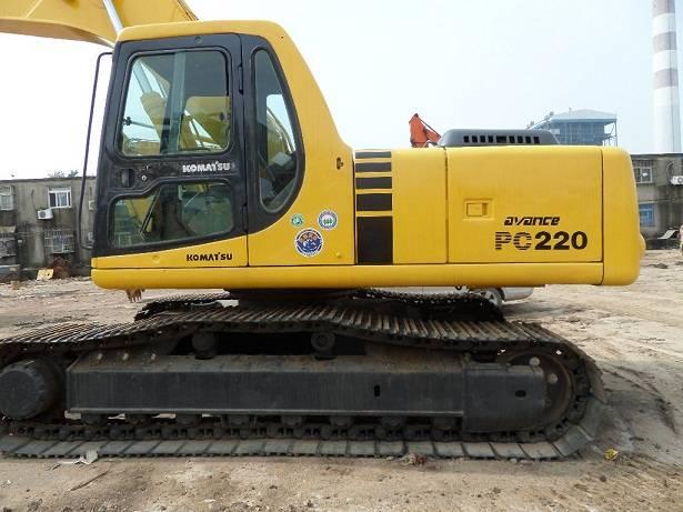 Used komatsu PC220-7, used excavator, Used excavator komatsu PC220-7