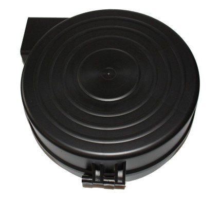 Black welding wire spool for Welding Wire Feeder Assembly