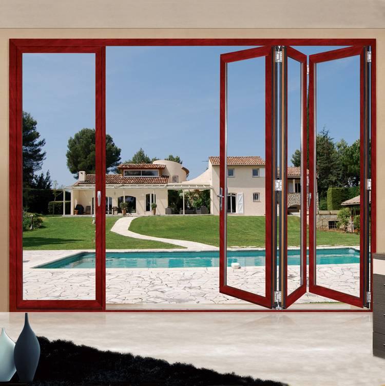 Commercial Aluminum Folding Door