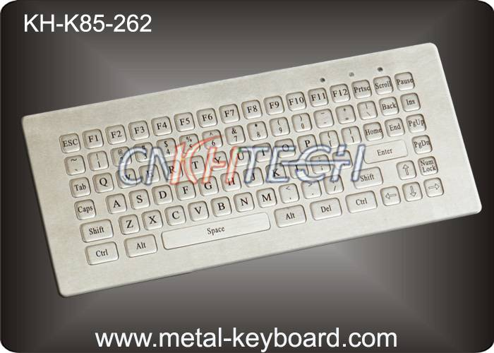 KH-K85-262 85 Keys Mini Industrial Metal Keyboard with dust - proof , anti - corrosive