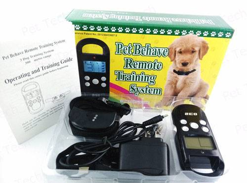 Remote Control Dog Training Collar With LCD Display (P-032)