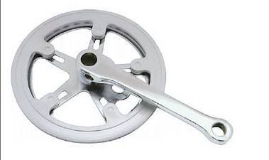 bicycle chainwheel and crank