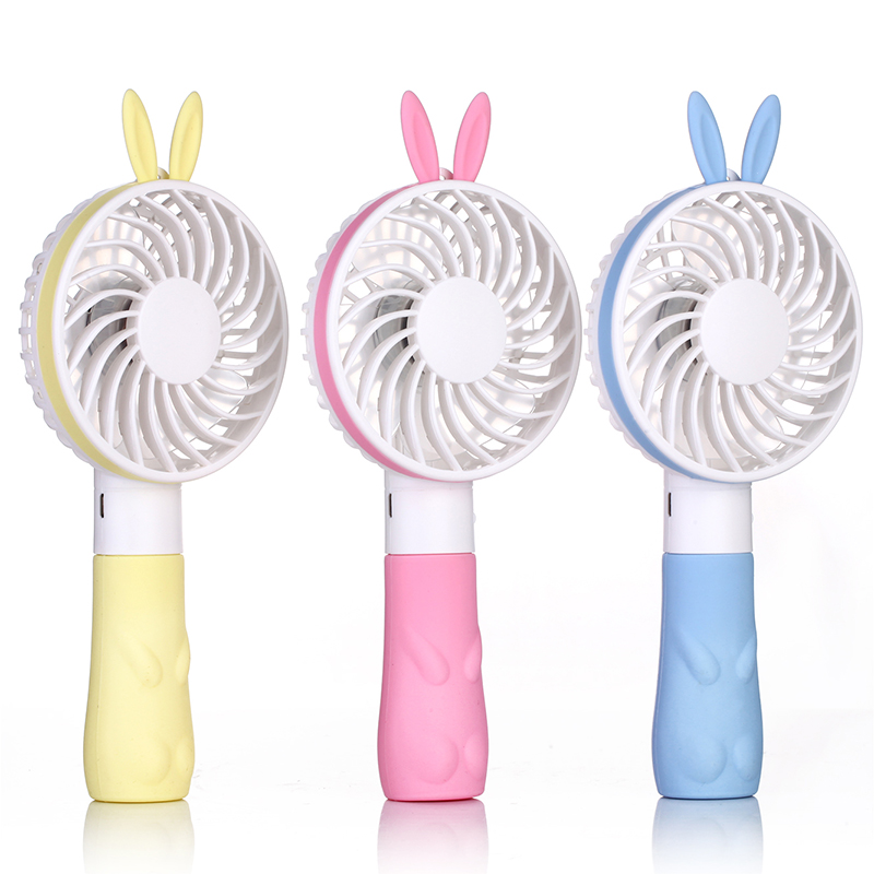 Mini Fan Portable USB Rechargeable Handheld