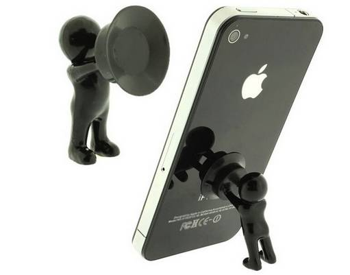 Originality Hercules mobile phone holder Mini desk villain 3D Man cellphone bracket Smart Phone Stan