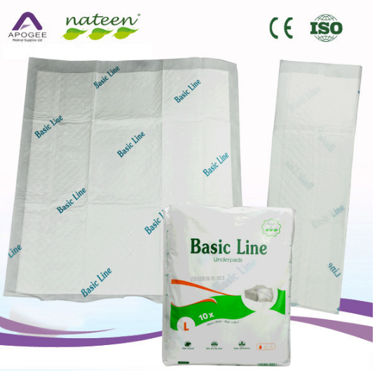 Free samples hospital use underpad for disposable people