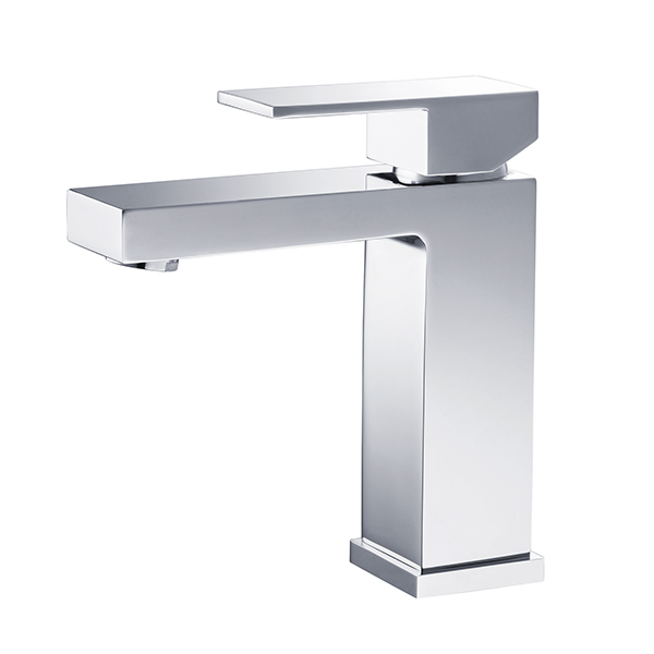 CUBE SINGLE LEVER BASIN MIXER