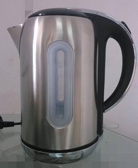 cordless stainless steel tea pot water kettle