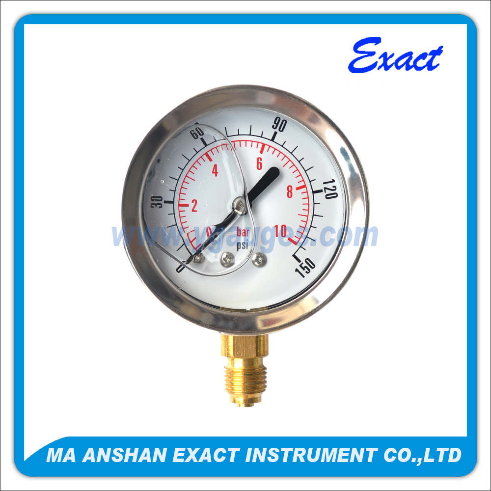 Oiled Pressure Gauge