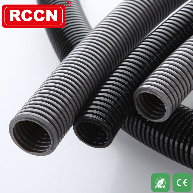 PA flexible conduit nylon hose splited