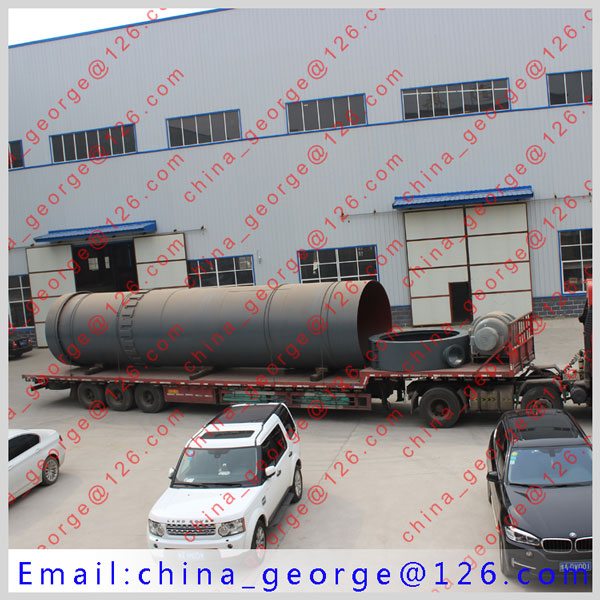 Large capacity hot sale soda rotary kiln sold to Ongtustik kazakstan