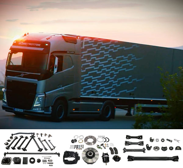 Automobile Parts for European Truck Scania Volvo Man Iveco