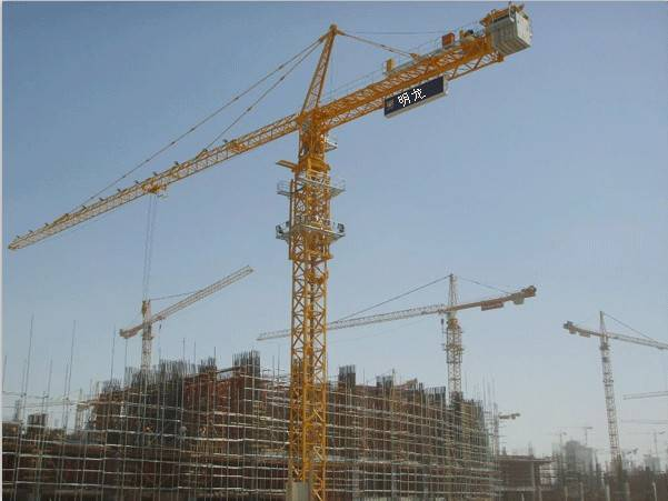 Self-Erecting Tower Crane (QTZ400L25) max load 25t