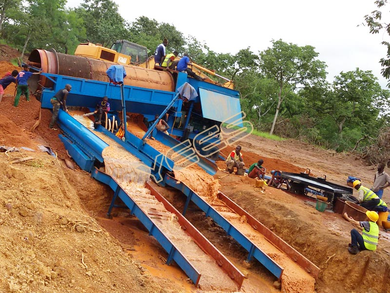 Gold Ore Washing Plant Recovery Process Plant