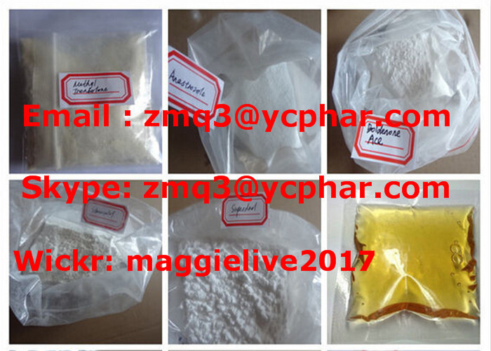 Mestanolone Ace CAS: 521-11-9 99% Anabolic Steroid Powder