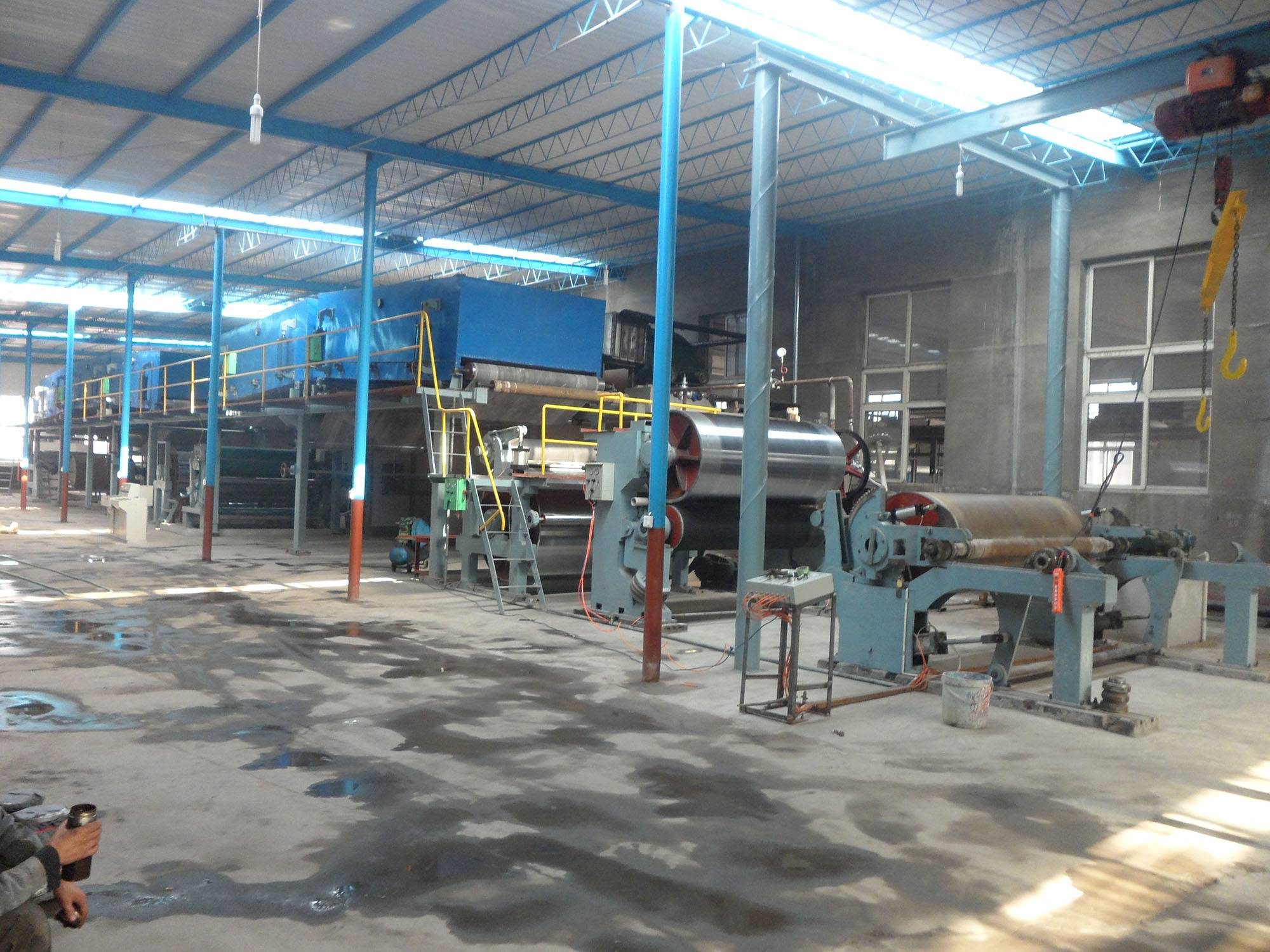 cast coated paper coating machinery