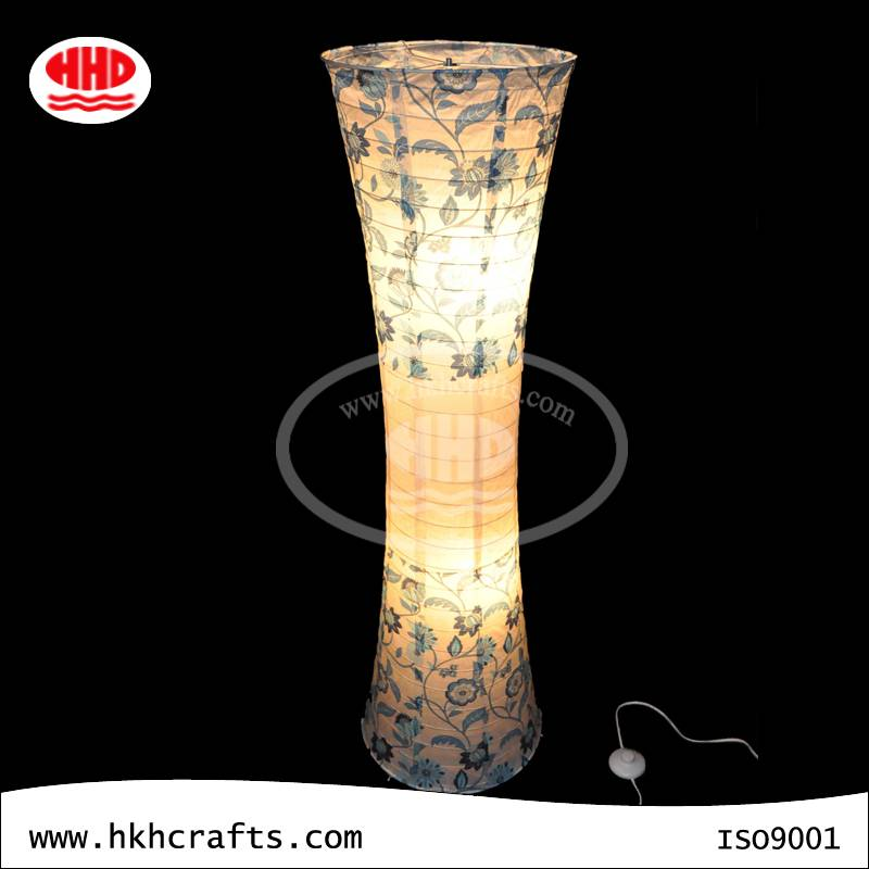 Floor light high quality chinese paper lampion floor paper lantern