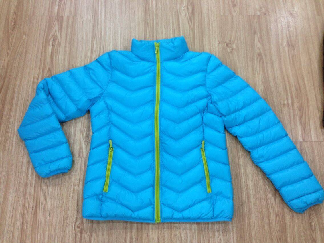 LM005 ladies imitation down jacket