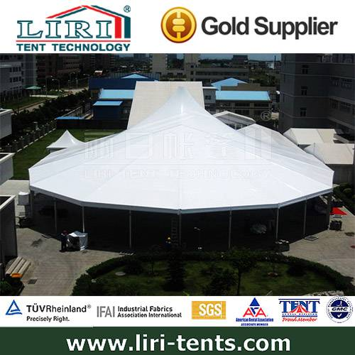 30m Dodecagonal Luxury Wedding Marquee Party Tent for Sale
