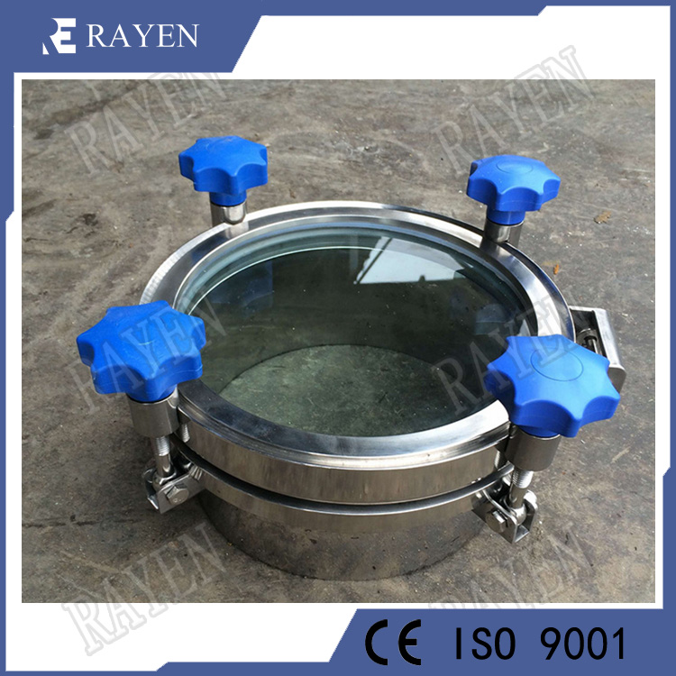 stainless steel manway manhole cover tank manhole