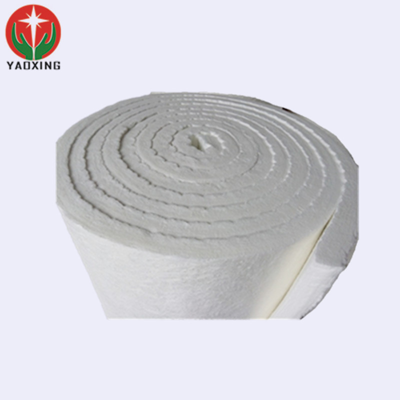 refractory high temperature melting furnace 1400 ceramic fireproof 25mm thick felt