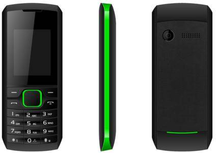 K206 1.8inch feature mobile phone with dual sim card Facebook whatsapp GSM Support Bluetooth/FM Radi
