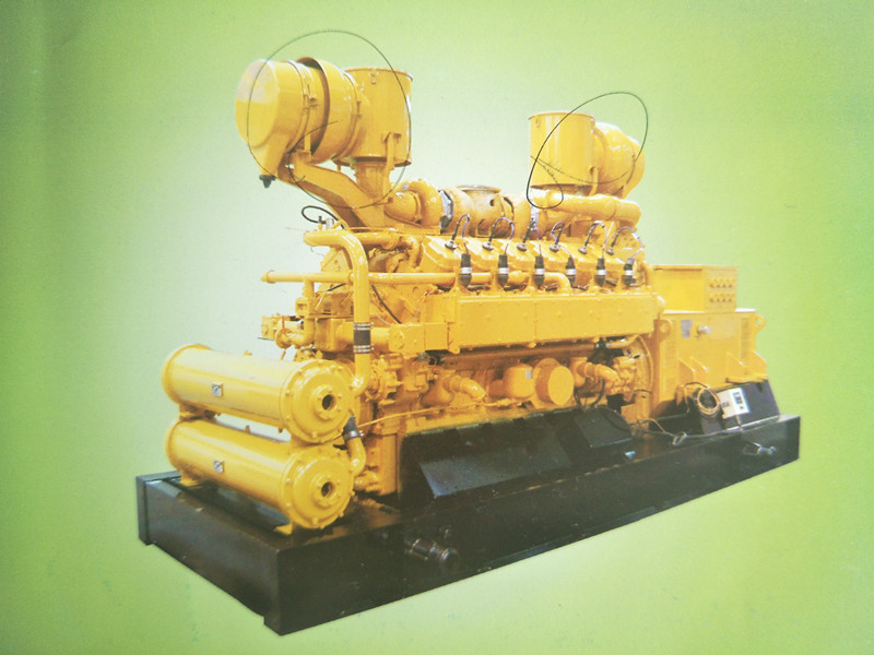 Series 190 inner mixing gas engines and gensets