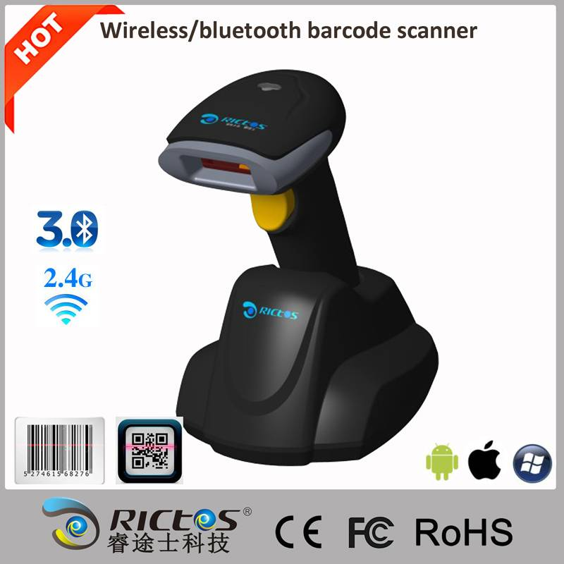 Handheld bluetoooth barcode scanner for Android IOS system