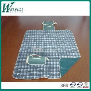 three layers fleece waterproof picnic blanket, beach picnic blanket