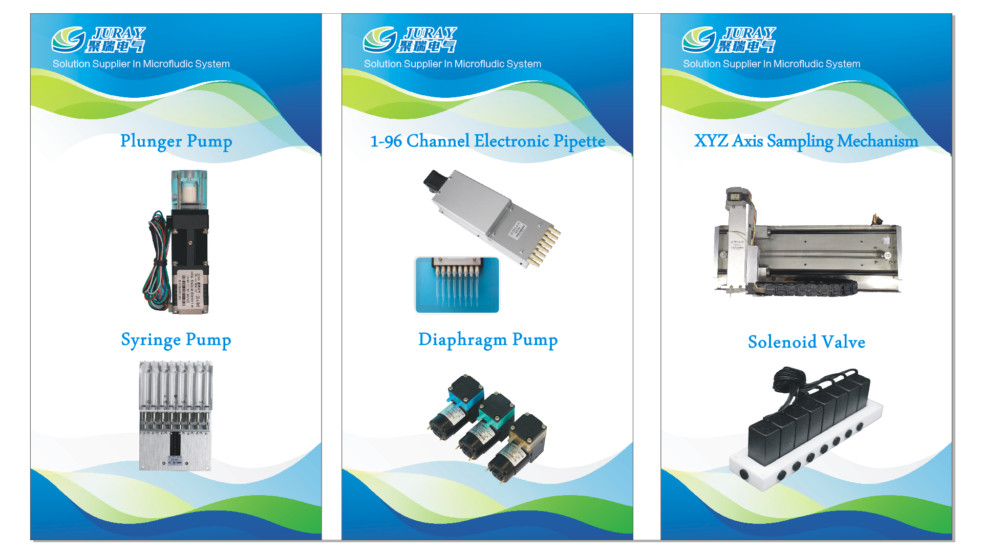 Electronic components for auto analyzer