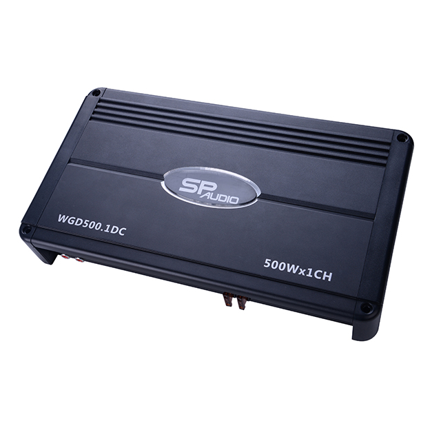 Frighting Series 500W X1CH RMS competition class D car amplifier