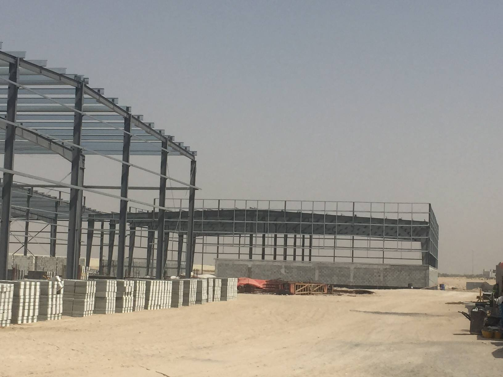 steel structure workshop building-Nanyang xinxing steel structure