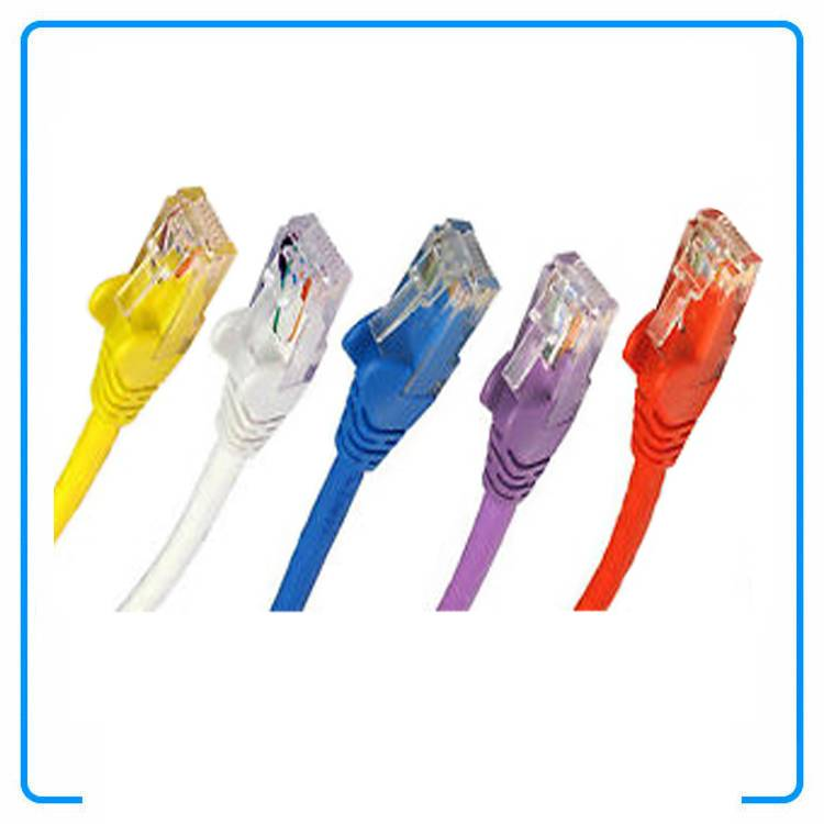 Moulded UTP CAT5e RJ45 Ethernet Cable Network Patch Lead LAN Internet Cable
