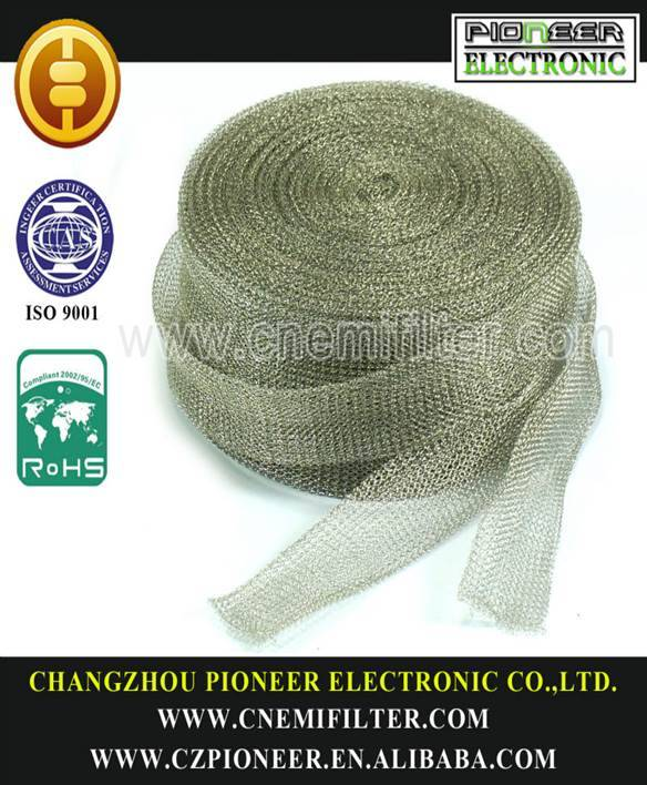 double layer knitted wire mesh tapes