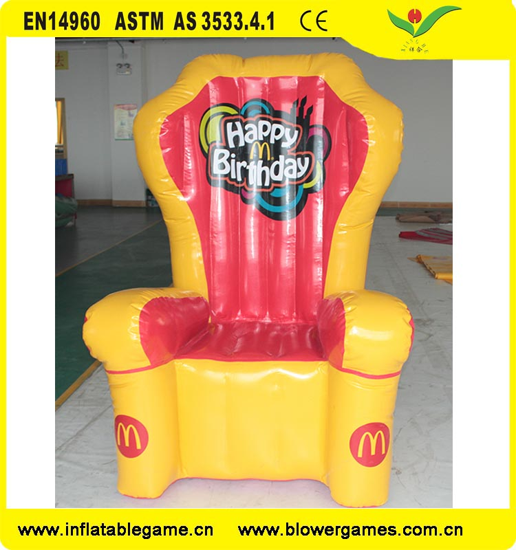 Cheap wholesale Furniture McDonald inflatable chair