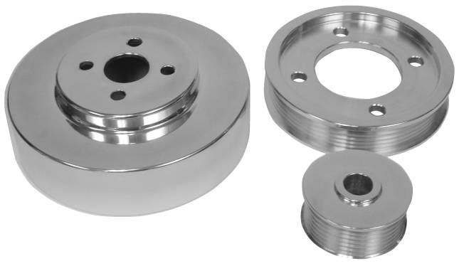 5.0 FORD MUSTANG 1994-1995 PULLEYS SET