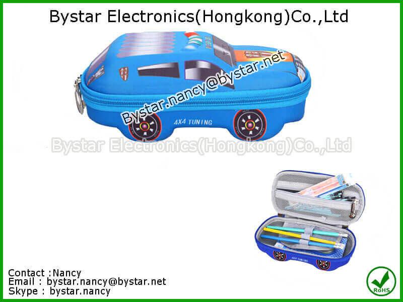 Car model pencil case hard case EVA carrying case Travel case Shockproof bag waterproof bag