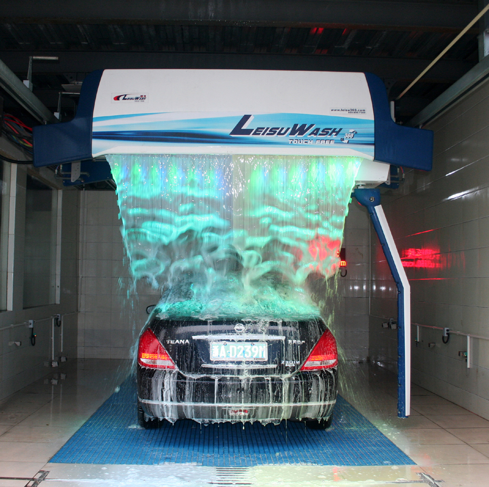Leisu 360 touchless automatic car wash machine