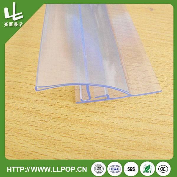 Clear PVC Reusable Data Strip Holder