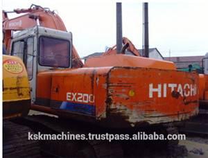 Hitachi used crawler excavator EX200