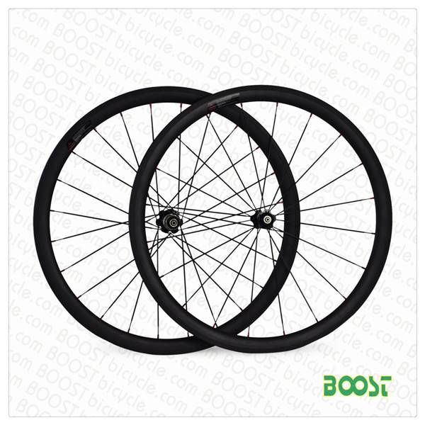 BOOSTbicycle Cheap bicycle parts U shape 25mm width 38mm carbon road bicycles clincher tubuless comp