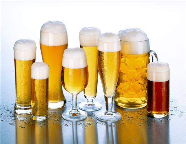 Factory supply high-end handmade Beer Glass for wholsale