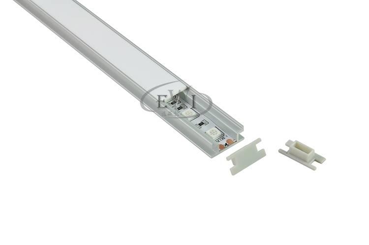 H type aluminum extrusion led heatsink profile for flooring lighting strip