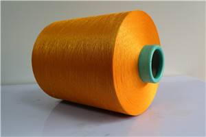 Semi dull 150/144 color dty polyester yarn