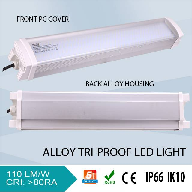 SMD2835 High Power led tri-proof ip66 waterproof light fixture