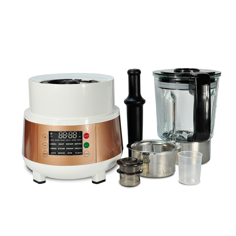 30000RPM Baby Food Blender Steamer With 1.75L Glass